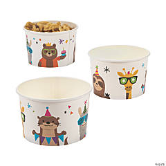 Party Animal Snack Bowls