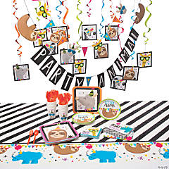 Party Animal Tableware Kit for 16 Guests