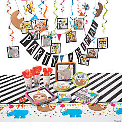 Party Animal Tableware Kit for 24 Guests
