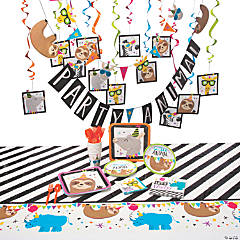 Party Animal Tableware Kit for 8