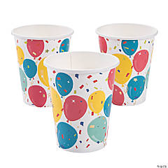 Party Balloons Cups