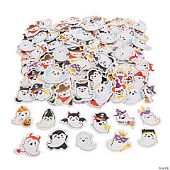 Party Ghosts Self-Adhesive Foam Shapes