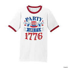 Party Like It's 1776 Adult's T-Shirt