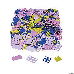 Pastel Color Brick Party Confetti