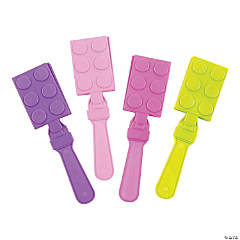 Pastel Color Brick Party Hand Clappers