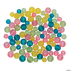Pastel Easter Bead Assortment - 5mm-8mm