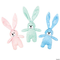 Pastel Long Ear Stuffed Easter Bunnies