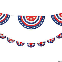 Patriotic Americana Bunting Garland