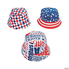 cdadeb55313 Patriotic Bucket Hats