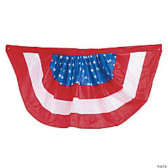Patriotic Bunting Clip Strip