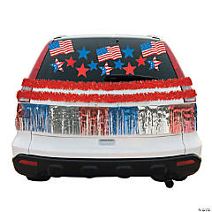 Patriotic Car Parade Decorating Kit