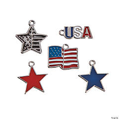 Patriotic Charm Assortment