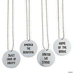Patriotic Charm Necklaces