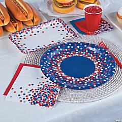 Patriotic Confetti Party Supplies