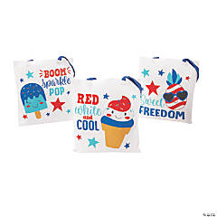 Patriotic Cool Treat Tote Bags
