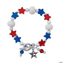 Patriotic Dangle Bracelet Craft Kit