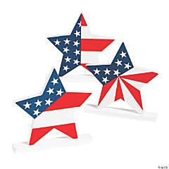 Patriotic Decorative Stars