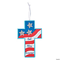Patriotic Faith Ornament Craft Kit