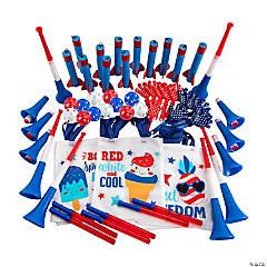 Patriotic Favor Bags Kit for 12