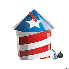 Patriotic Firework Favor Boxes