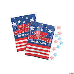 Patriotic Flag Hard Candy