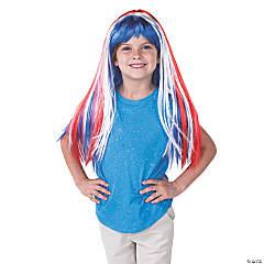 Patriotic Glam Wig