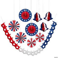 Patriotic Hanging Decoration Assortment