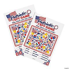 Patriotic I Spy Game