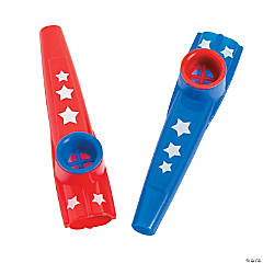 Patriotic Kazoos