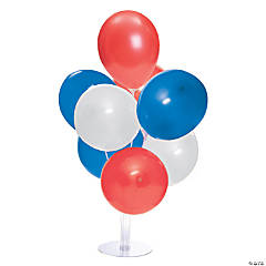 Patriotic Latex Balloon Centerpieces