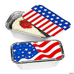 Patriotic Leftover Containers