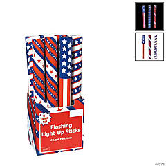 Patriotic Light-Up Flashing Batons