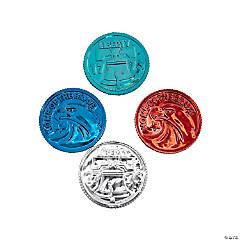 Patriotic Metallic Color Coins