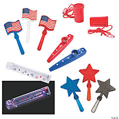 Patriotic Noisemaker Kit