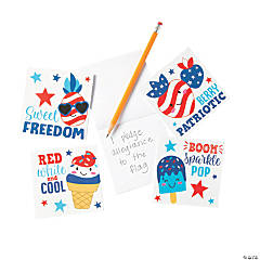 Patriotic Notepads