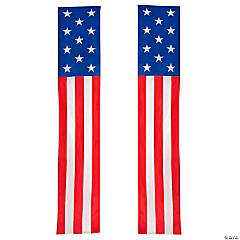 Patriotic Pillar Buntings