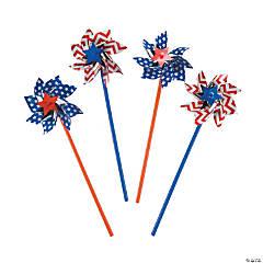 Patriotic Pinwheels - 36 Pc.