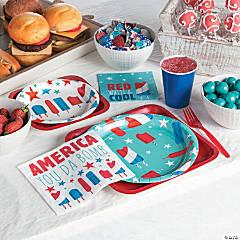 Patriotic Pop Party Supplies