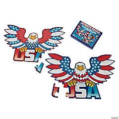 Patriotic Puzzle Scavenger Hunt Game