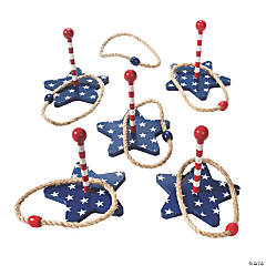 Patriotic Ring Toss Game