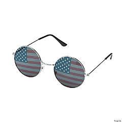 Patriotic Round Sunglasses