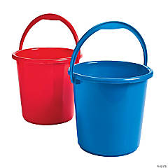Patriotic Sand Bucket Assortment