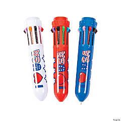 Patriotic Shuttle Pens