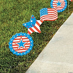 Patriotic Sidewalk Signs