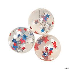 Patriotic Star Bouncy Balls