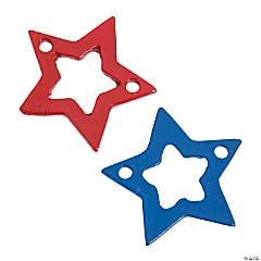 Patriotic Star Connectors