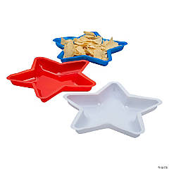 Patriotic Star Serving Dishes