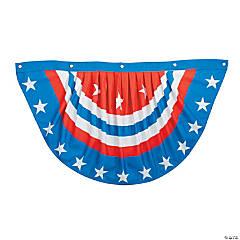 Patriotic Star Spangled Bunting