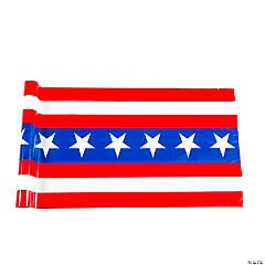 Patriotic Stars & Stripes Bunting Roll