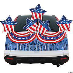 Patriotic Stars & Stripes Car Parade Decorating Kit